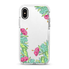 iPhone Ultra-Aseismic Case - Floral Wreath