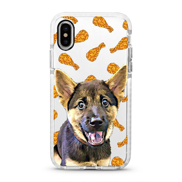 iPhone Ultra-Aseismic Case - Chicken Drumstick