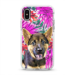 iPhone Ultra-Aseismic Case - Pink Jungle