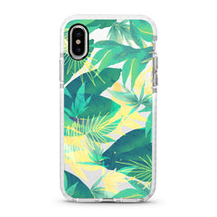 iPhone Ultra-Aseismic Case - Tropical in Yellow and Green