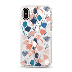 iPhone Ultra-Aseismic Case - Hand Painted Flowers