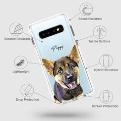 Samsung Ultra-Aseismic Case - Cute Bones