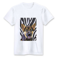 Custom T-shirt - Zebra