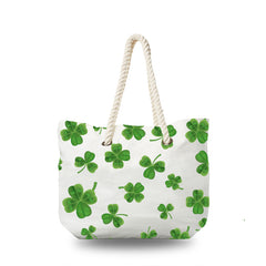 Canvas Bag - Four Leaf Clover