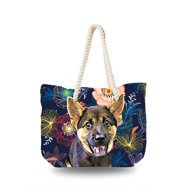 Canvas Bag - Night Floral
