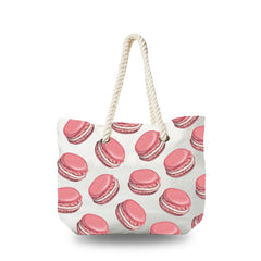 Canvas Bag - Macarons