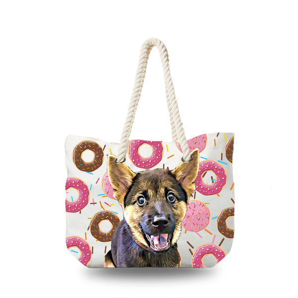 Canvas Bag - Donuts