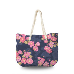 Canvas Bag - Sakura in The Dark
