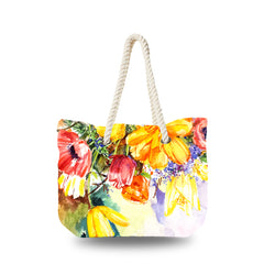 Canvas Bag - Spring Floral