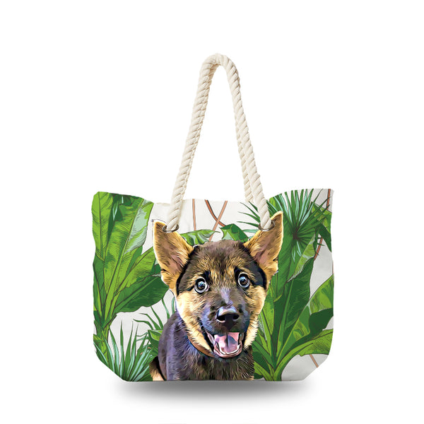 Canvas Bag - Classic Tropical