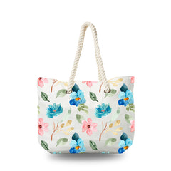 Canvas Bag - Pastel Floral