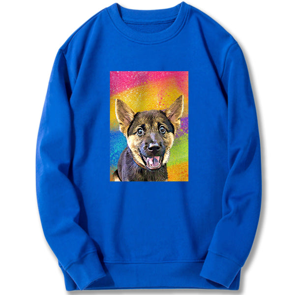 Custom Sweatshirt - Colorful Splash