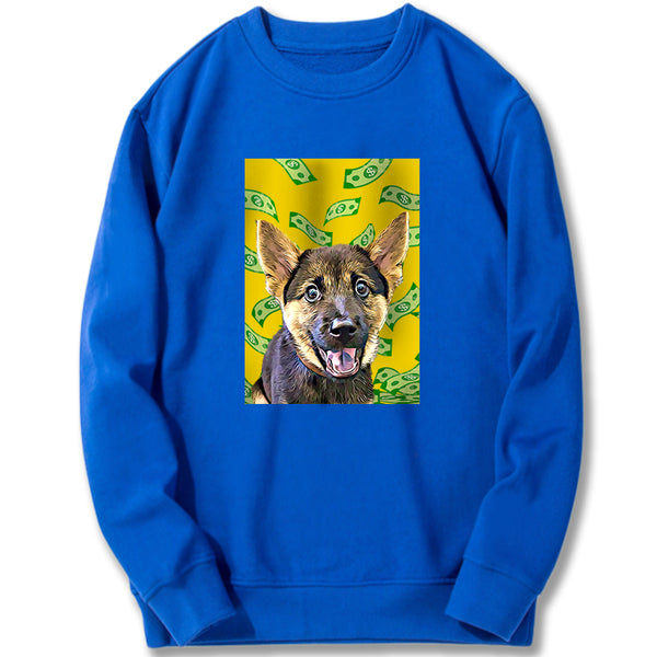 Custom Sweatshirt - Money Fall