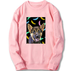 Custom Sweatshirt - Popping Banana