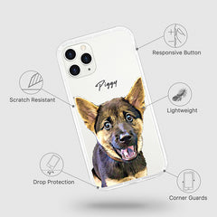 iPhone Aseismic Case - Snack Time