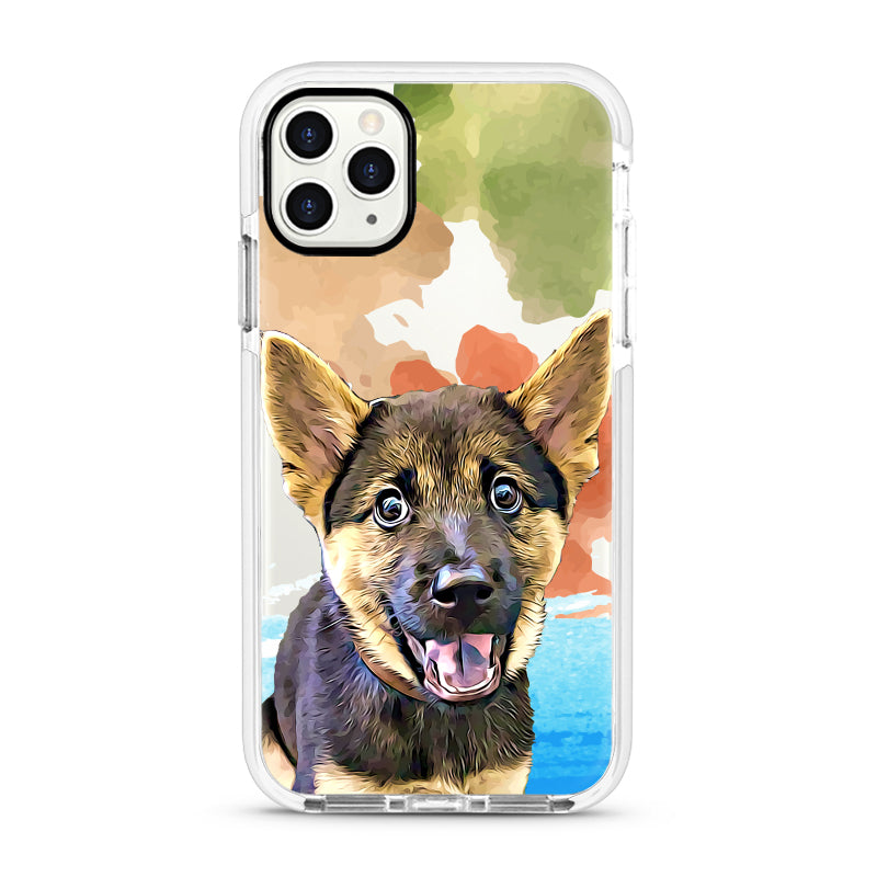iPhone Ultra-Aseismic Case - Camouflage