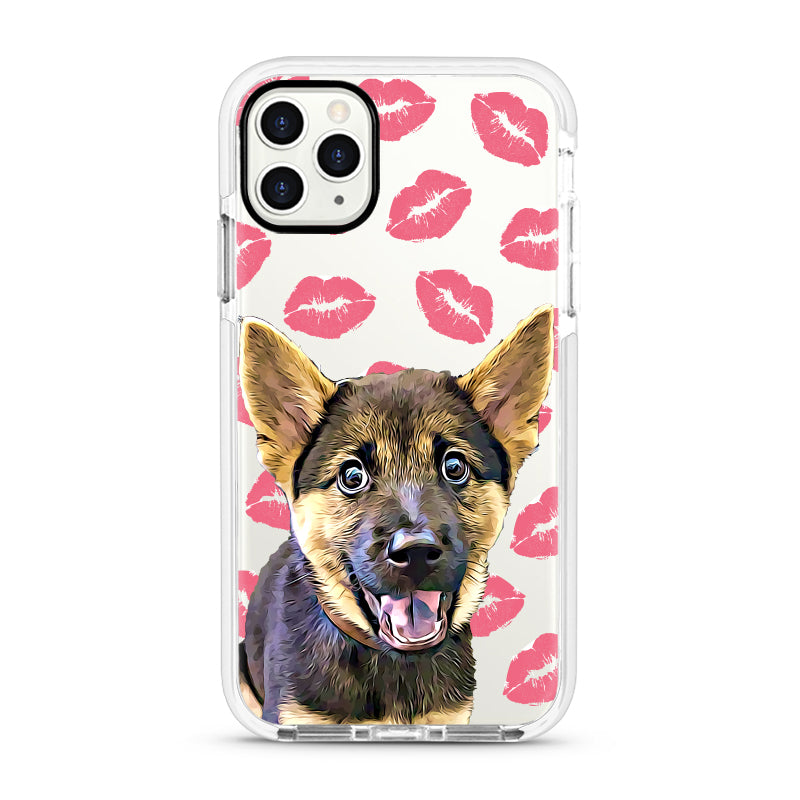 iPhone Ultra-Aseismic Case - Kisses