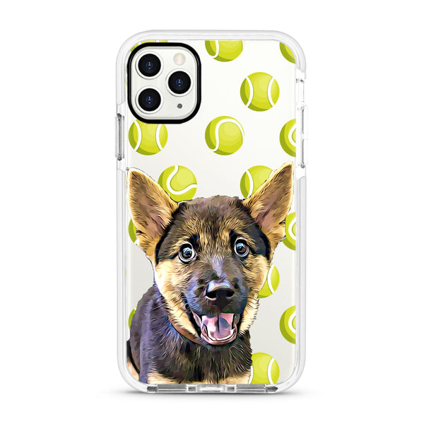iPhone Ultra-Aseismic Case - Green Tennis Ball