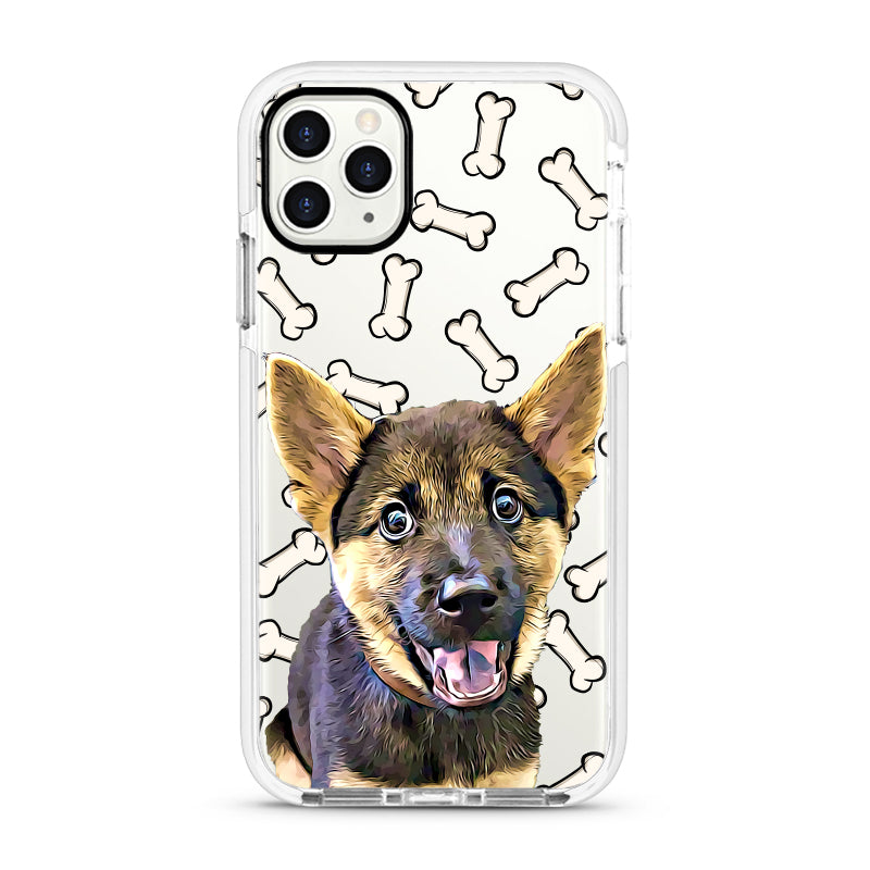 iPhone Ultra-Aseismic Case - Cute Bones