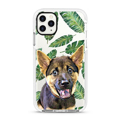 iPhone Ultra-Aseismic Case - Leaves Pattern Design