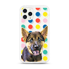 iPhone Aseismic Case - Festive Dots