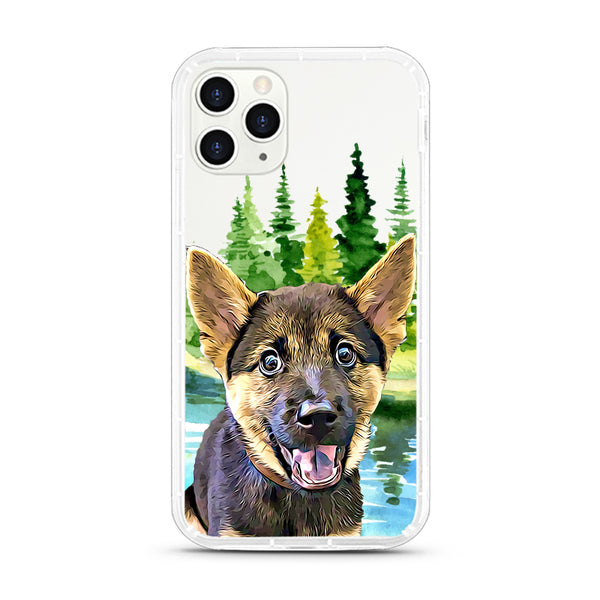 iPhone Aseismic Case - Deep Forest 3