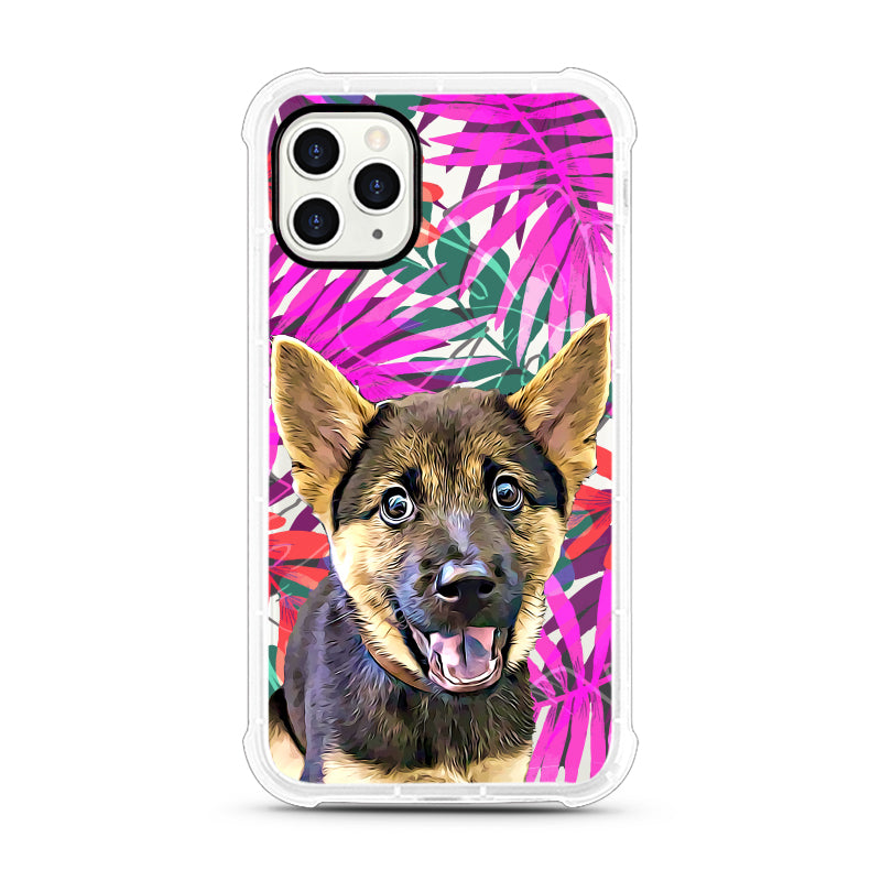 iPhone Aseismic Case - Pink Jungle