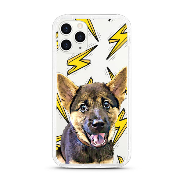 iPhone Aseismic Case - The Flash Lighting