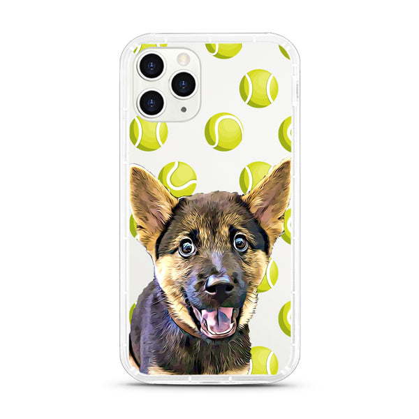 iPhone Aseismic Case - Green Tennis Ball