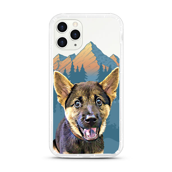 iPhone Aseismic Case - Mountain