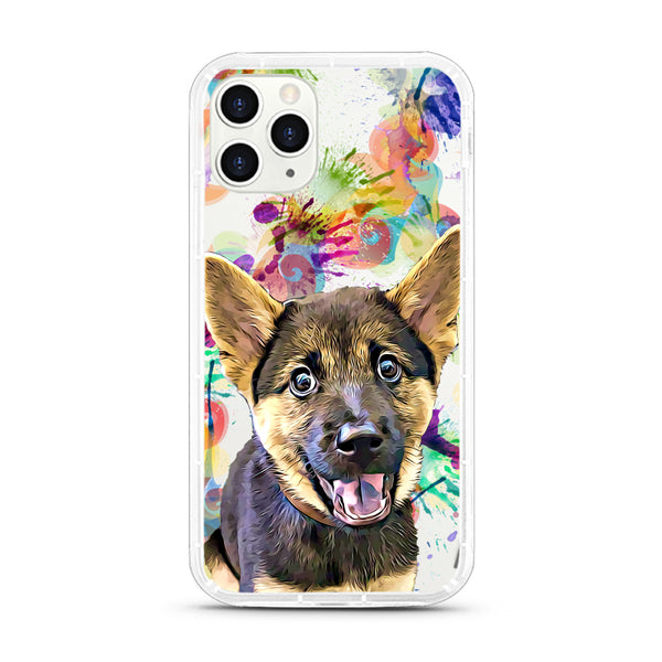 iPhone Aseismic Case - Water Color Splash