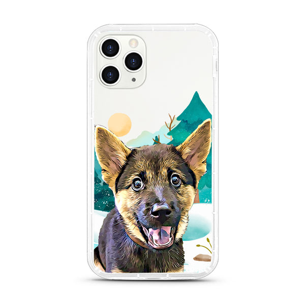 iPhone Aseismic Case - Snow Forest