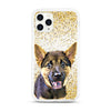 iPhone Aseismic Case - Gold Sparkles