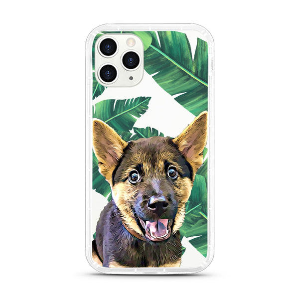 iPhone Aseismic Case - Big Leaves