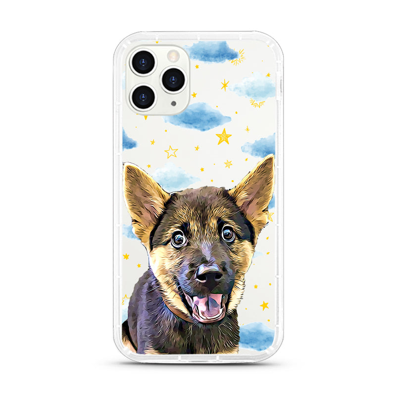 iPhone Aseismic Case - Starry night