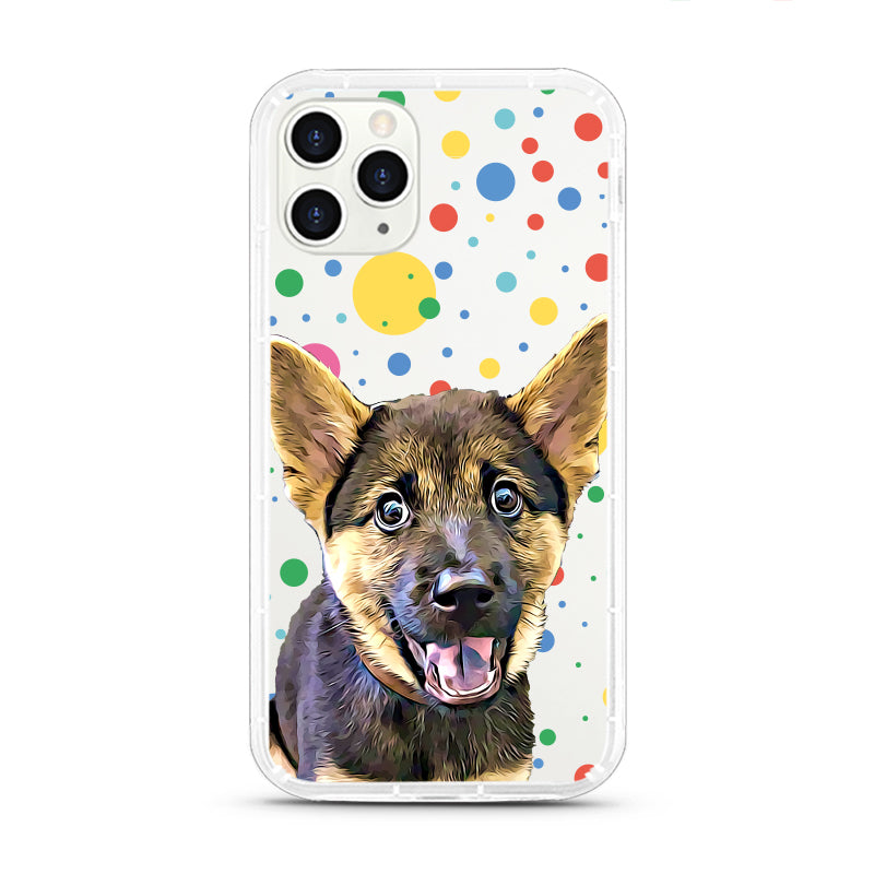 iPhone Aseismic Case - Bubble Dots