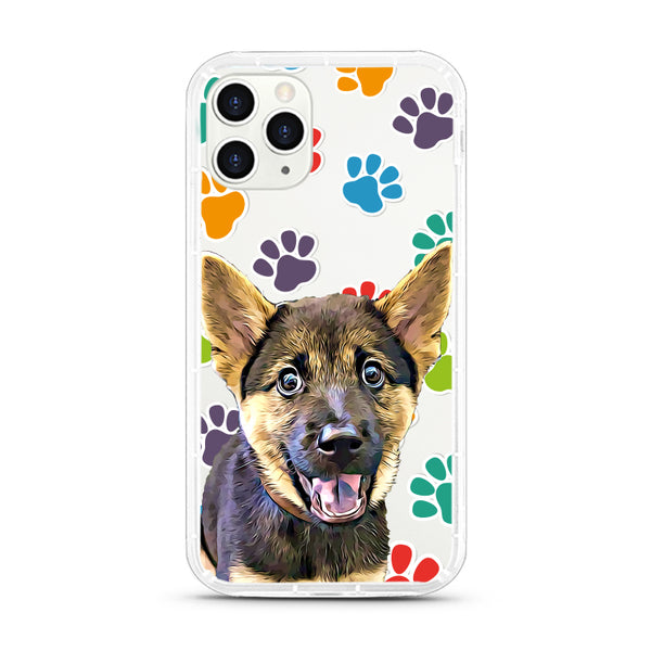 iPhone Aseismic Case - Rainbow Paws