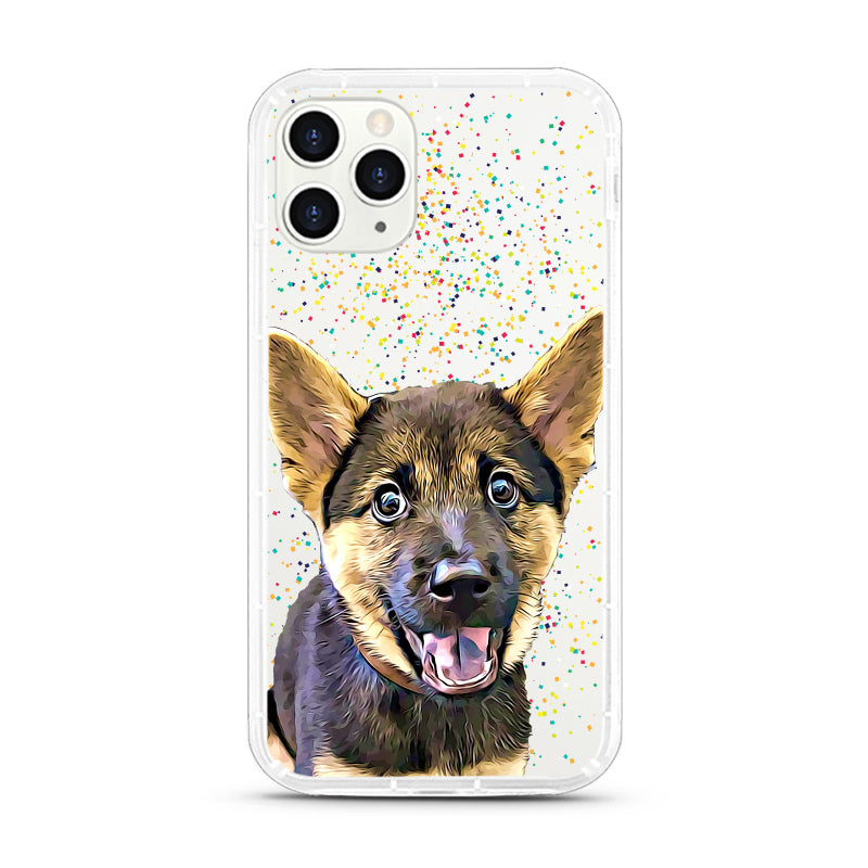 iPhone Aseismic Case - Rainbow Confetti