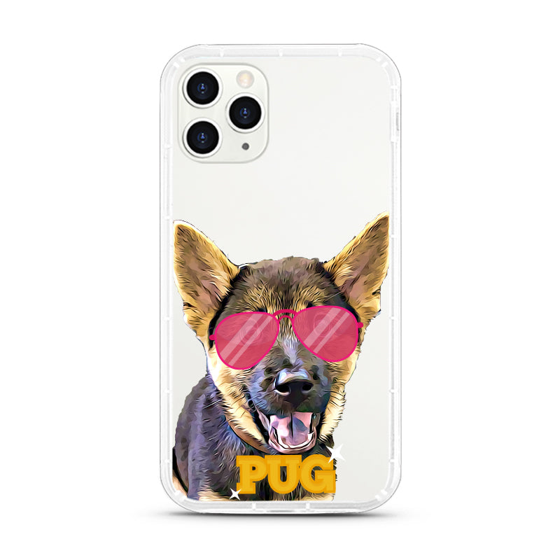 iPhone Aseismic Case - Pug Life