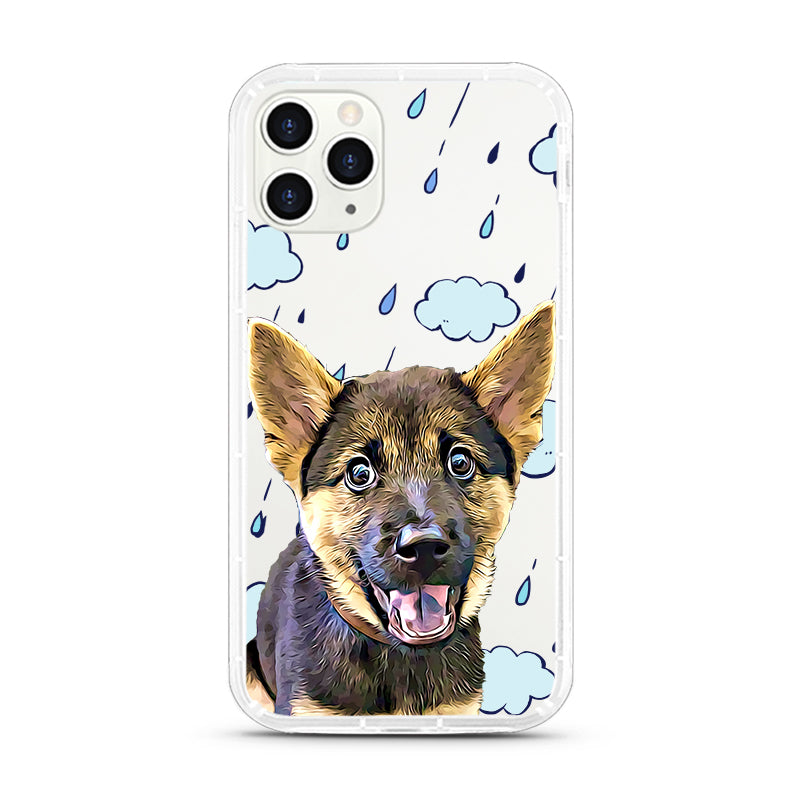 iPhone Aseismic Case - Seattle Rain