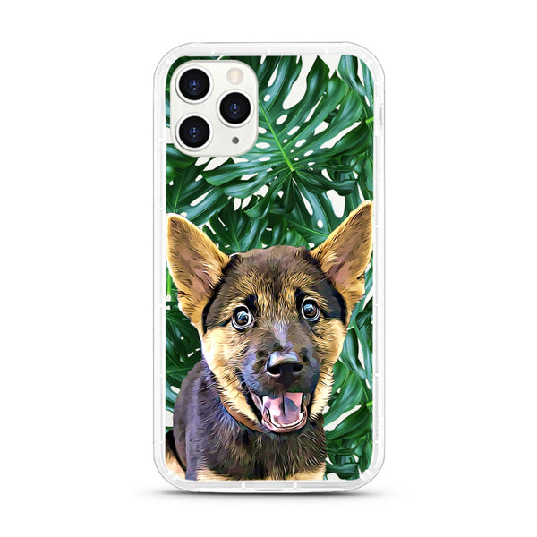 iPhone Aseismic Case - Big Leaves 2