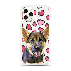 iPhone Aseismic Case - Hearts and Hearts