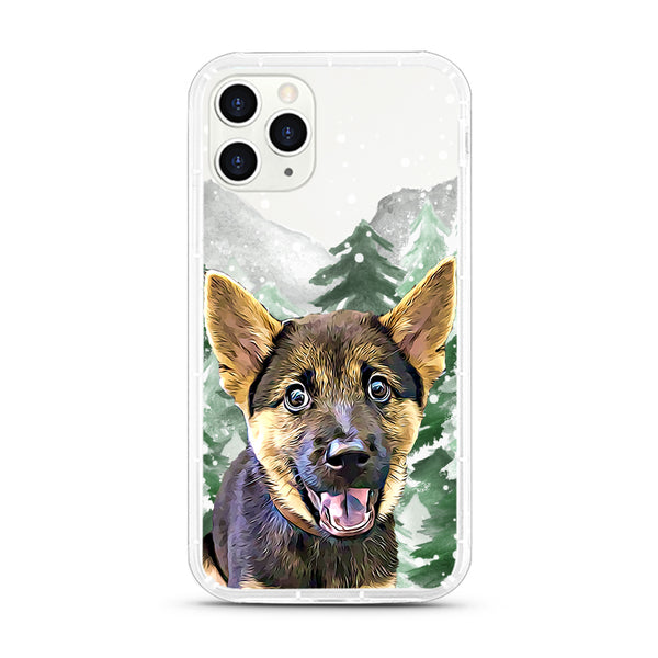 iPhone Aseismic Case - Snow Forest 2