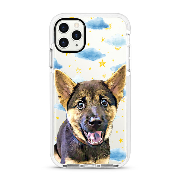 iPhone Ultra-Aseismic Case - Starry night