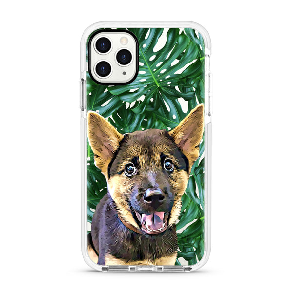 iPhone Ultra-Aseismic Case - Big Leaves 2