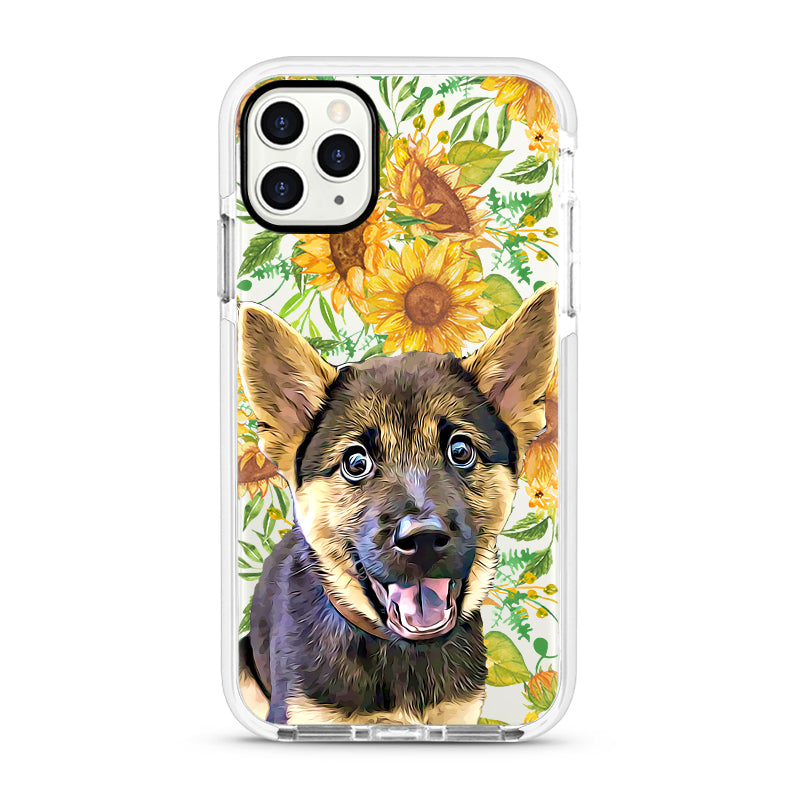 iPhone Ultra-Aseismic Case - Sunflowers Painting
