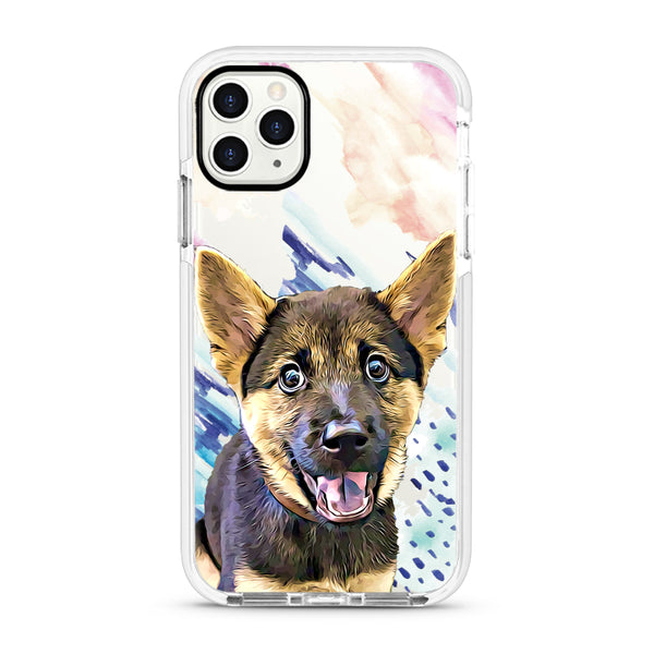 iPhone Ultra-Aseismic Case - Hand Paint Art