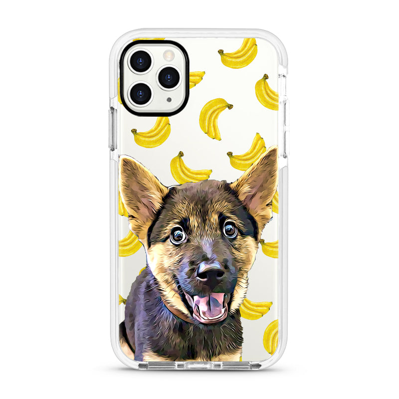 iPhone Ultra-Aseismic Case - Banana 3