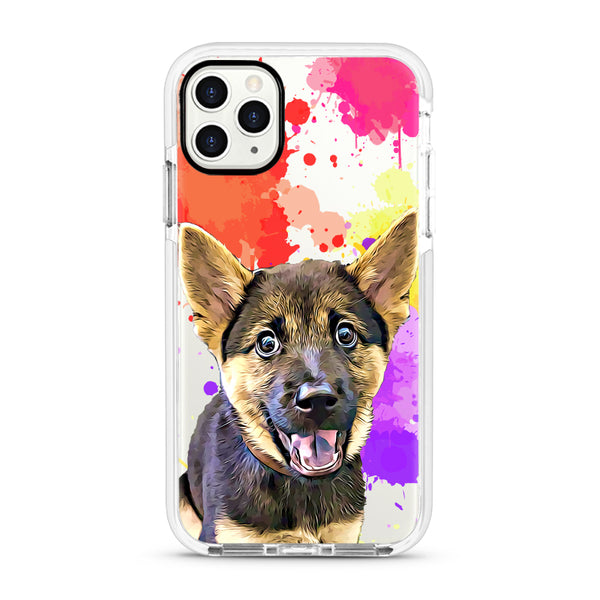 iPhone Ultra-Aseismic Case - Crazy Splash