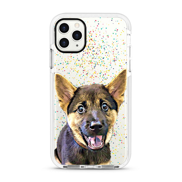 iPhone Ultra-Aseismic Case - Rainbow Confetti